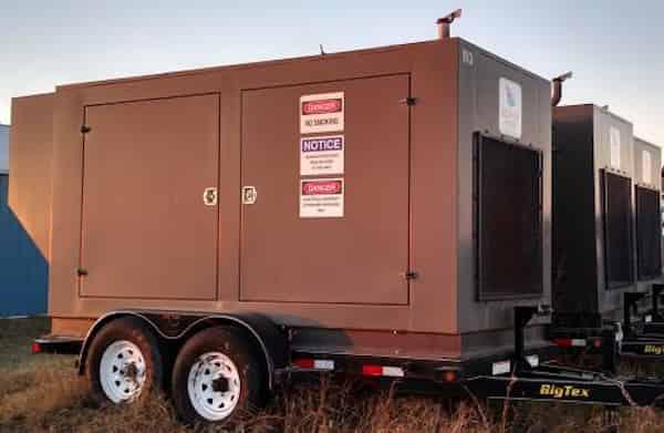 130kW PSI 480V Natural Gas Propane Generator