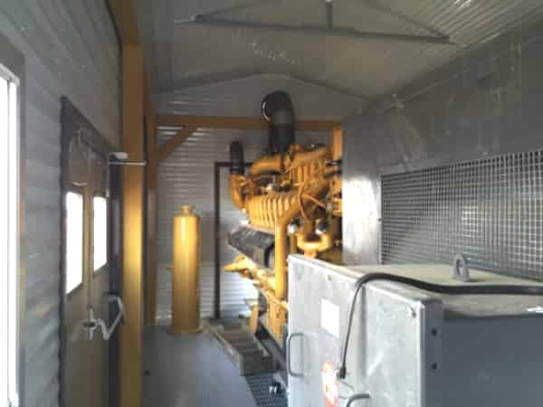 2000kW Natural Gas Generator 4160V Caterpillar G3520C for Electricity to Grid