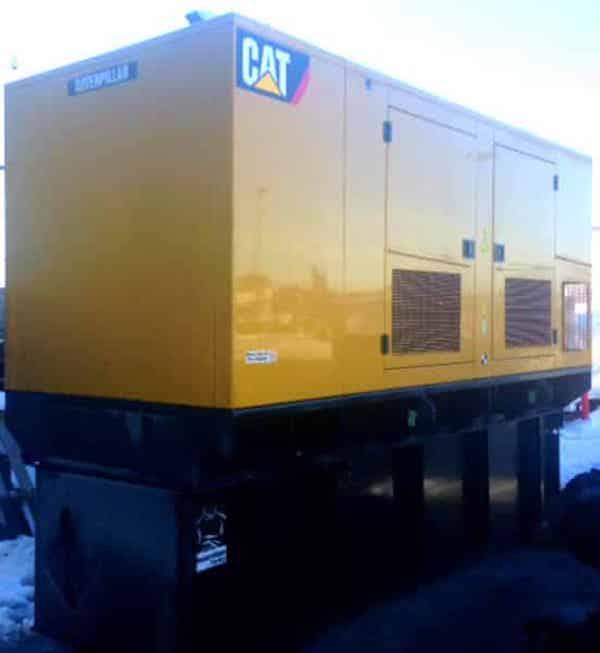 250kW Diesel Generator 600V Caterpillar C9