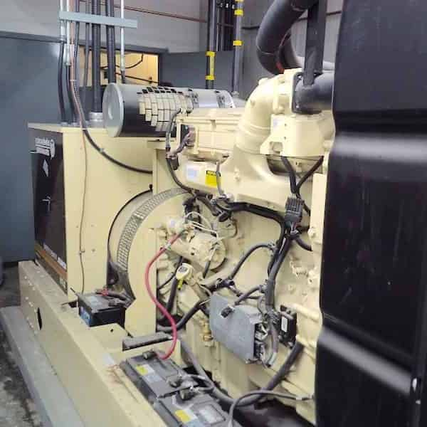 280kW Natural Gas Generator 600V Kohler 275RZD Detroit Series 60