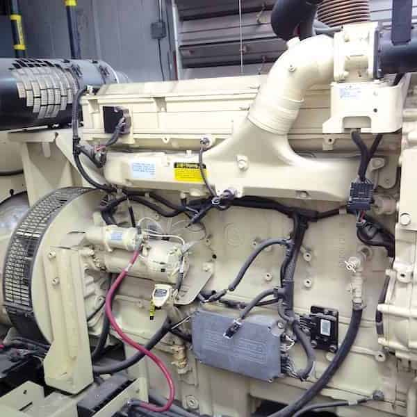 280kW Natural Gas Generator 600V Kohler 275RZD Detroit Series 60