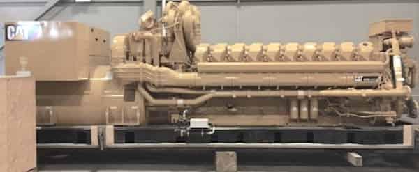 4000kW Diesel Generator 4160V Caterpillar C175-20