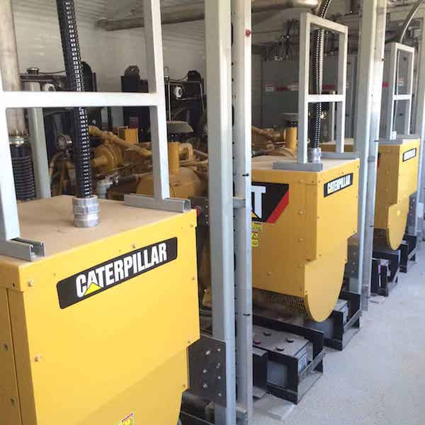 405kW Caterpillar Triple G3306TA 480V Natural Gas Generator Package