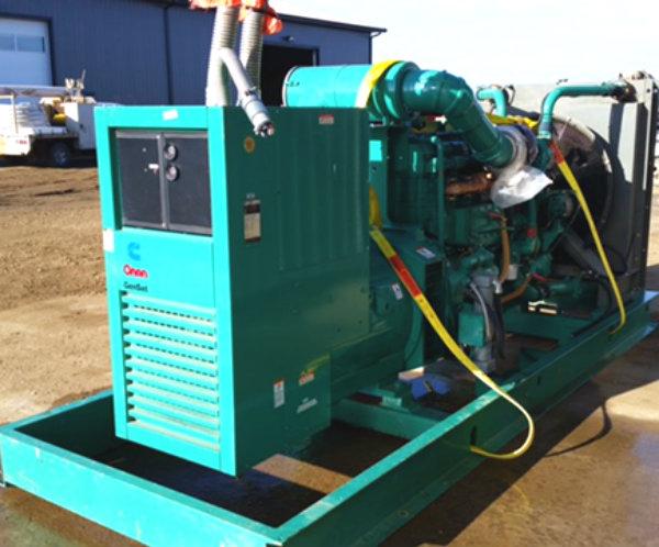 450kW Cummins 450DFEC 208V Diesel Generator