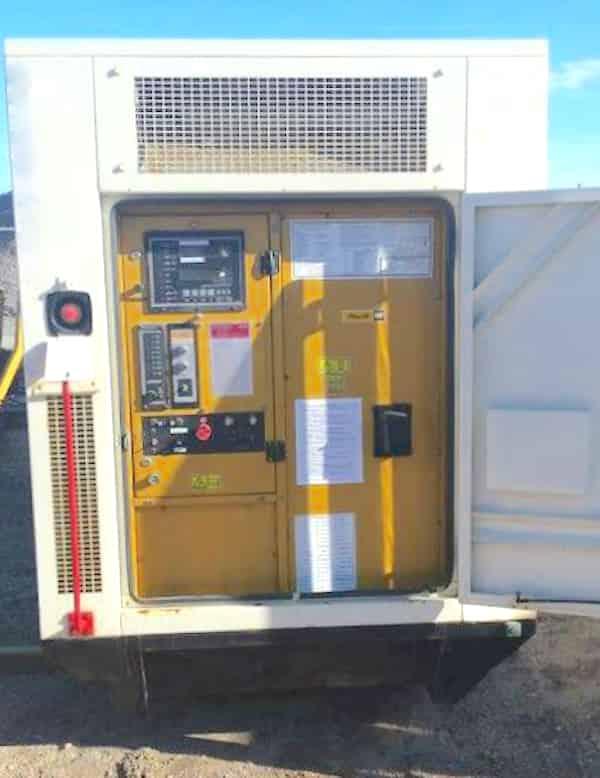450kW Diesel Generator 600V Caterpillar 3456