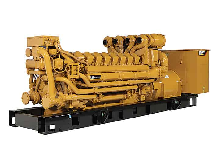 3000kW Diesel Generator 13800V 13200V 12470V Caterpillar C175-16