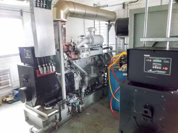 175kW Waukesha F11GSI 480V Natural Gas Generator Package