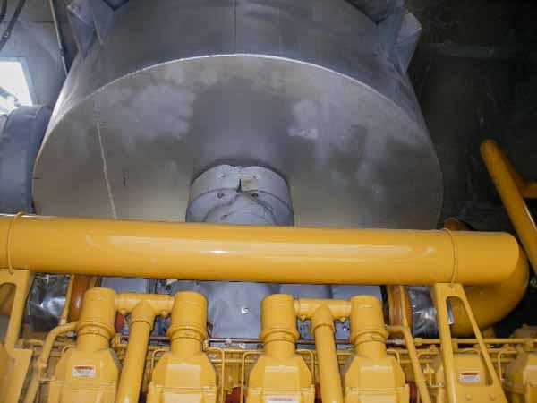 2000kW Caterpillar 3516 12470V Diesel Generator