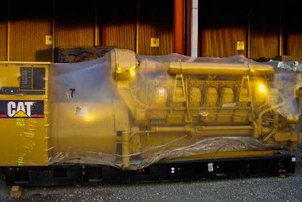 1640kW Caterpillar 3516B 4160V Diesel Generator