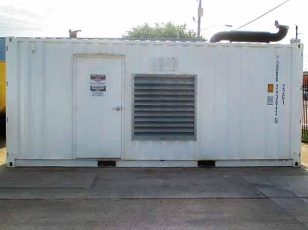 570kW Caterpillar C18 600V Diesel Generator