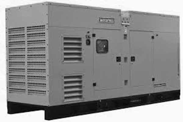 350kW Aksa APD-ULP350 480V Diesel Generator