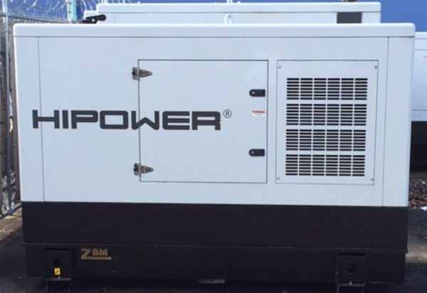54kW Hipower HJW55T6 208V Diesel Generator