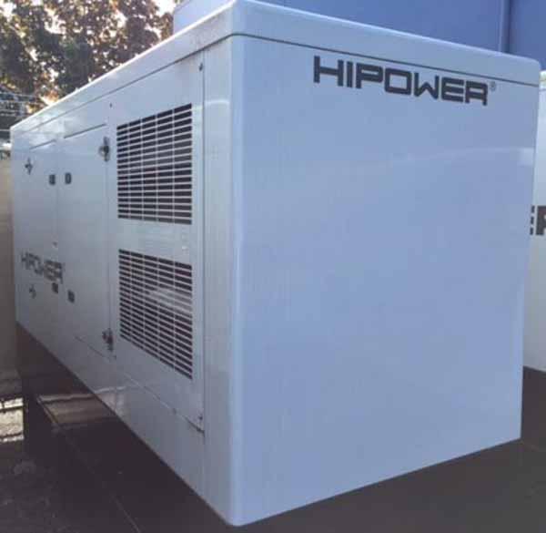 150kW Hipower HJW155T6 208V Diesel Generator