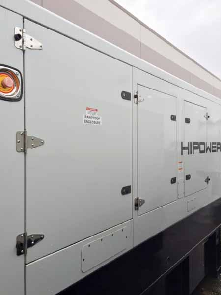 200kW Hipower HJW205T6 208V Diesel Generator