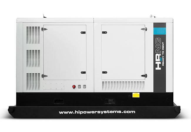130kW Hipower HRNG165T6 480V Natural Gas Generator