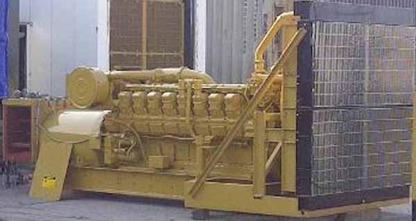 1400kW Caterpillar 3516 4160V Diesel Generator