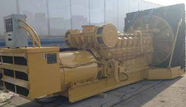 1600kW Caterpillar 3516 4160V Diesel Generator