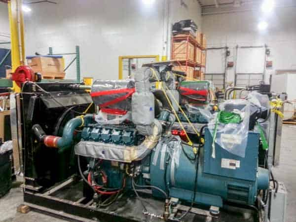 450kW Doosan P180LE 600V Diesel Generator