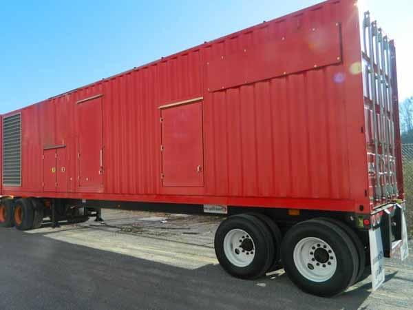 1250kW Baldor IDLC1250 480V Diesel Generator