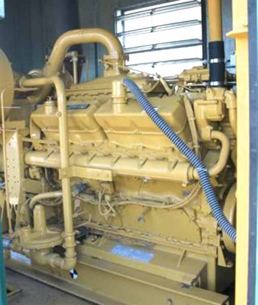 500kW Caterpillar G3412 480V Natural Gas Generator