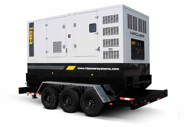 509kW Hipower HRMW580T6 480V Diesel Generator