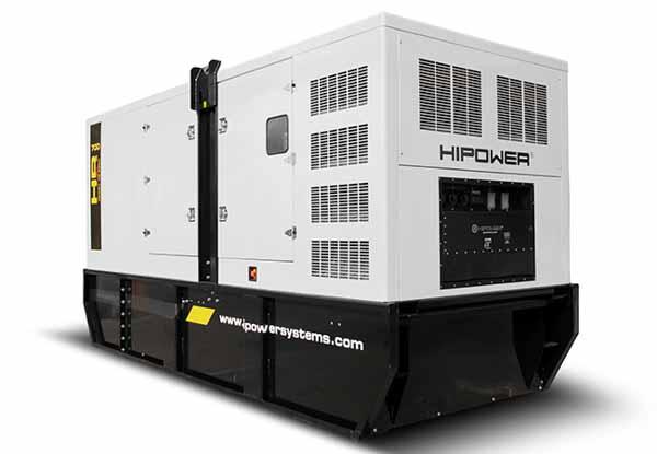 610kW Hipower HRMW700T6 480V Diesel Generator