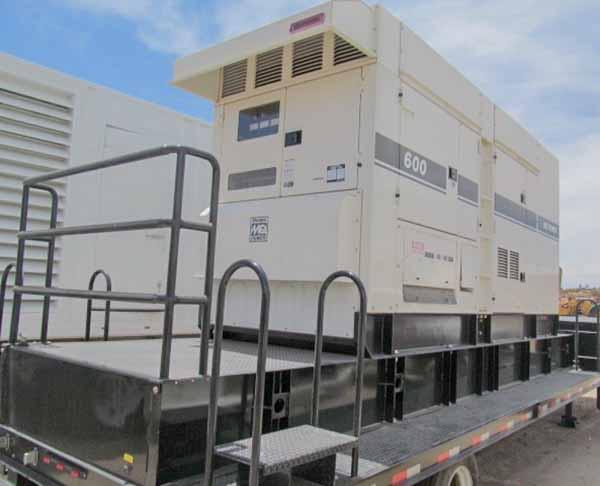528kW Multiquip MQ DCA600SSV 480V Diesel Generator
