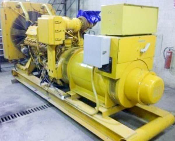350kW Caterpillar 3412 600V Diesel Generator
