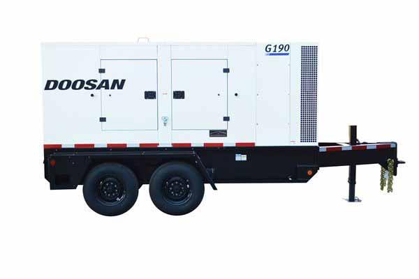 155kW Doosan G190 480V Tier 4 Final Diesel Generator