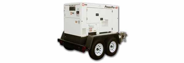31kW MMD PowerPro 40 480V Diesel Generator