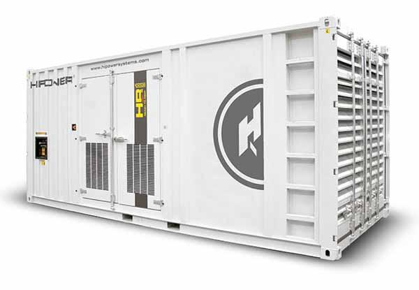 1020kW Hipower HMW1020T6 480V Diesel Generator