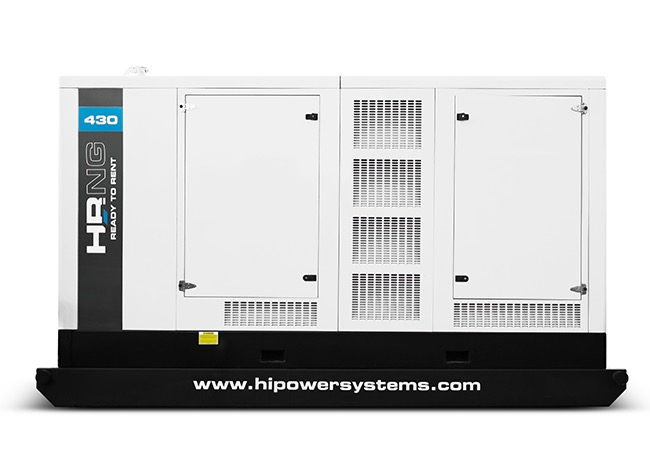 345kW Hipower HRNG430T6 480V Natural Gas Generator