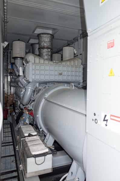 2250kW MTU DS2250 480V Diesel Generator