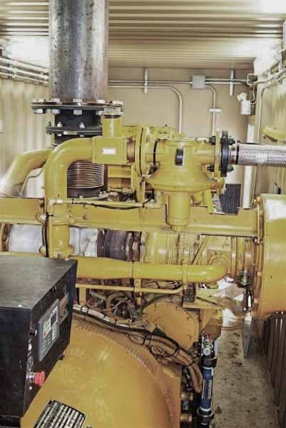 750kW Caterpillar G3516LE 480V Natural Gas Generator