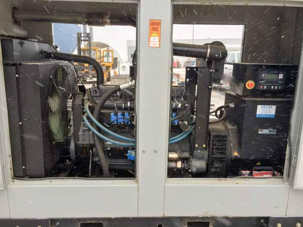 70kW IH466NA 208V 480V Natural Gas Propane Generator