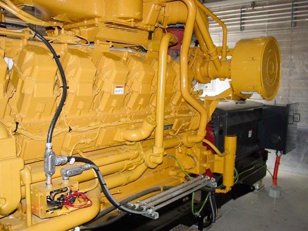 1400kW Caterpillar G3516 4160V Natural Gas Induction Generator
