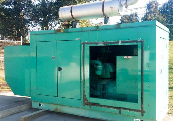 235kW Cummins 235GFBC 480V Natural Gas Propane Generator