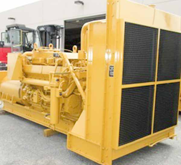 750kW Caterpillar 349 480V Diesel Generator