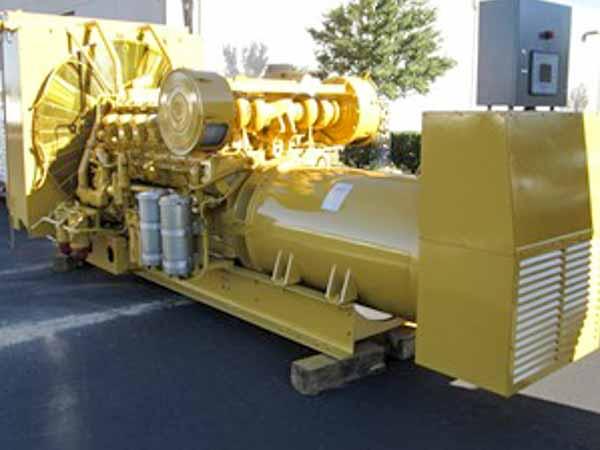 1000kW Caterpillar 3512 480V Diesel Generator