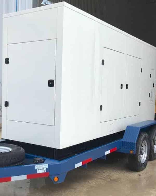 125kW IH466TA 480V Natural Gas Propane Generator