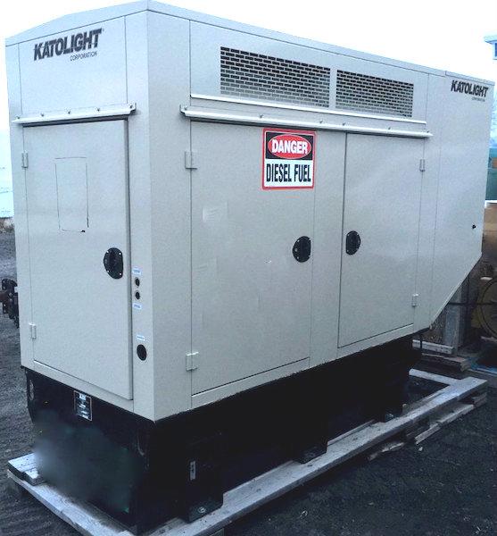 30kW Katolight 120V Diesel Generator