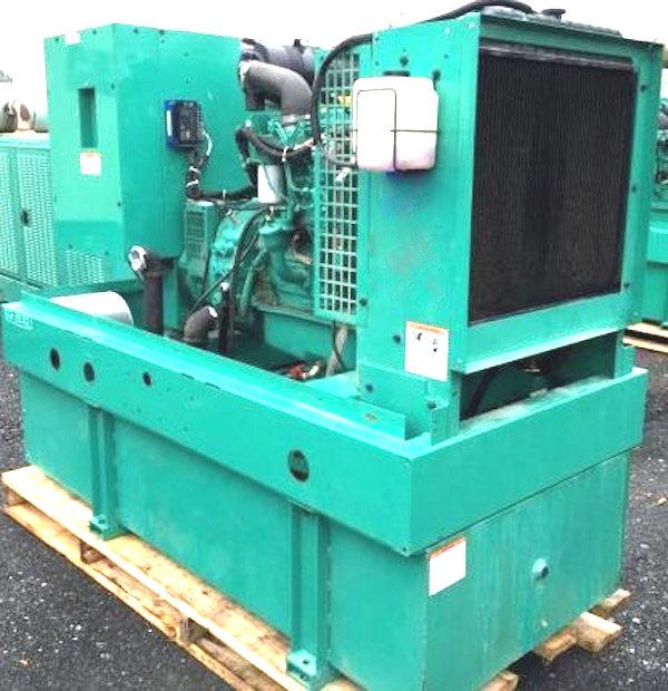 35kW Cummins 120V Diesel Generator