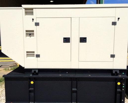 50kW Perkins 120V Diesel Generator