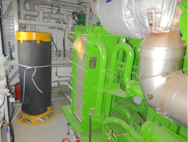 2665kW Jenbacher 616 4160V Natural Gas Generator