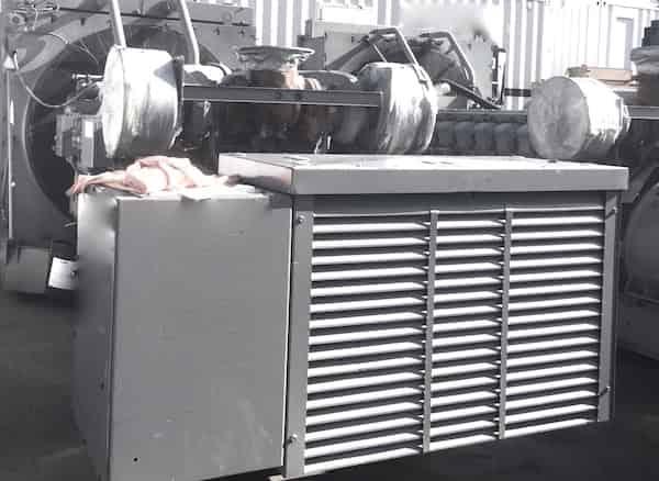1600kW diesel generator 600V Caterpillar 3516