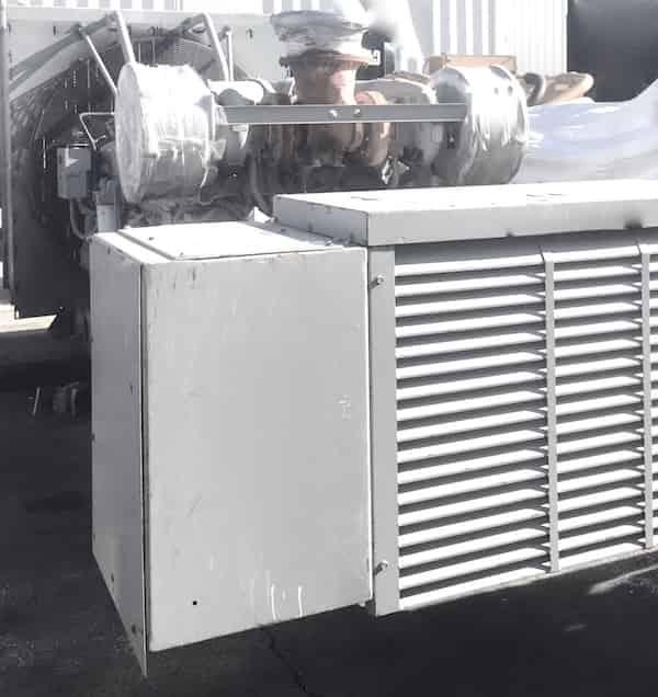 1750kW diesel generator 600V Caterpillar 3516