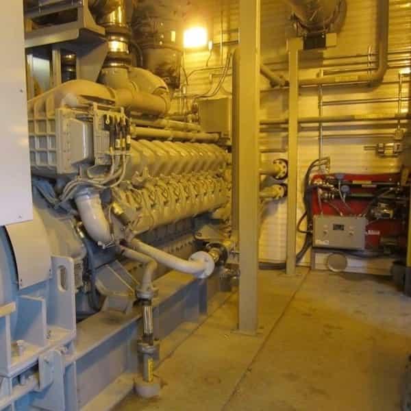 3000kw diesel generator 4160v mtu 04