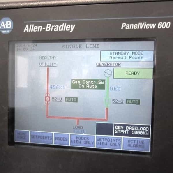 3000kw diesel generator 4160v mtu 05