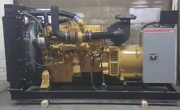 275kW Diesel Generator 600V Caterpillar C12 01
