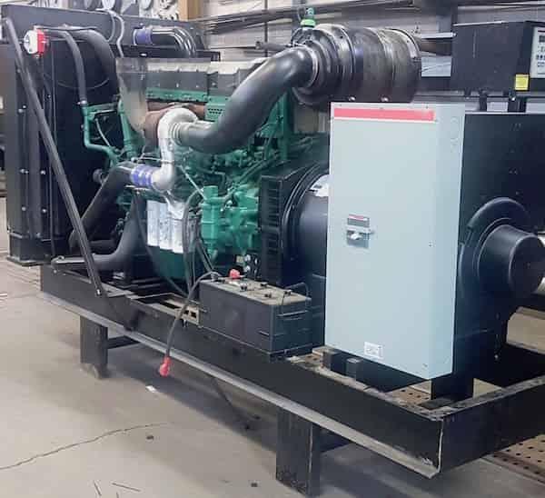 300kW diesel generator 600v volvo